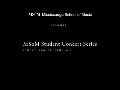 Mississauga School of Music: MSoM Student Concert Series
