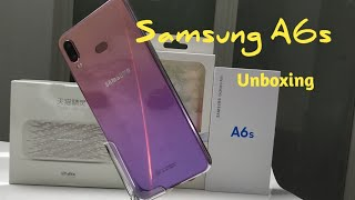 #SamsungA6s#Unboxing Samsung A6s Unboxing and Hands on