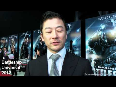 Tadanobu Asano HD Interview - Battleship Premiere