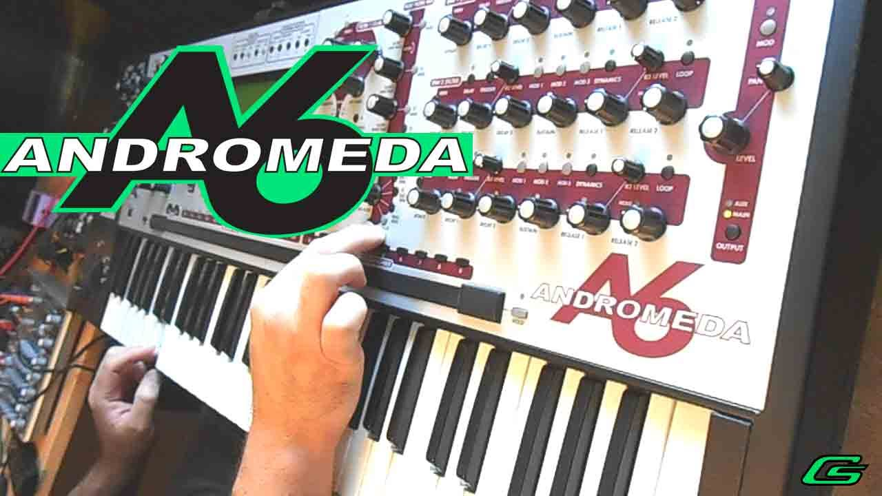modular mayhem on the alesis andromeda synthesizer demo 3 youtube. Black Bedroom Furniture Sets. Home Design Ideas