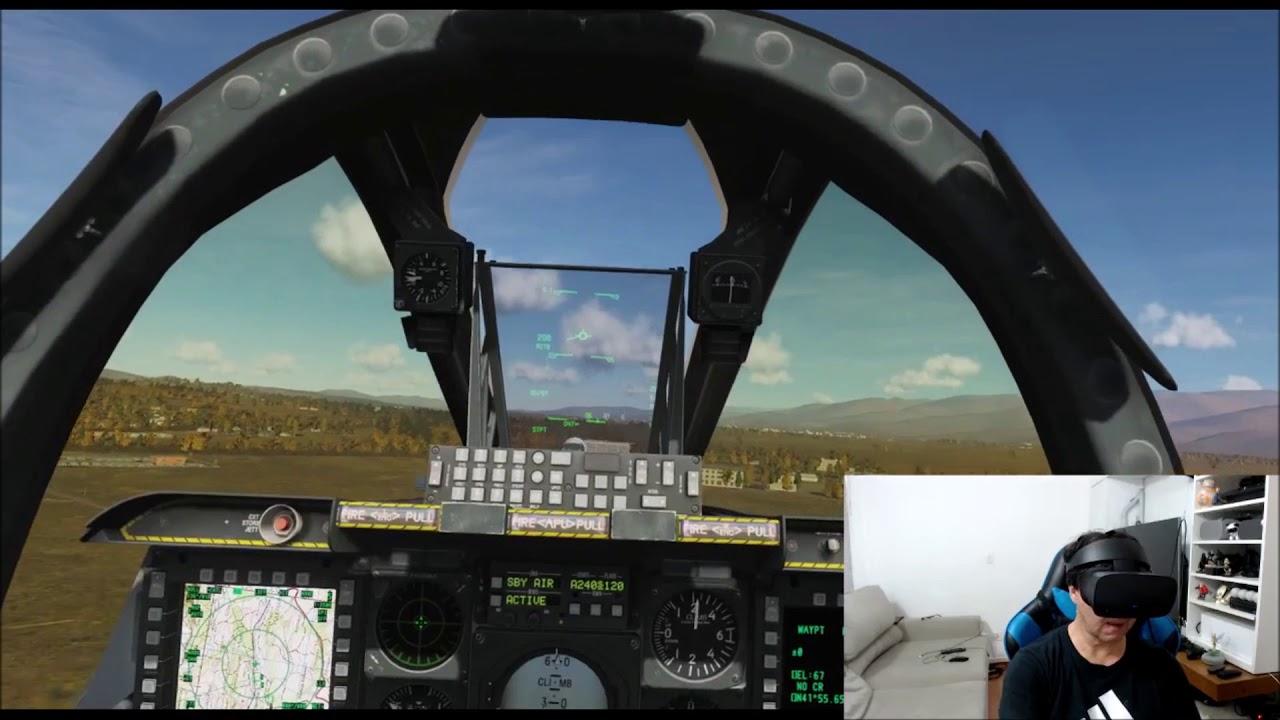 PLAYING DCS IN OCULUS RIFT S - A10C - REVIEW Oculus Rift S