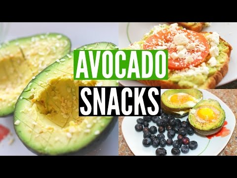 DIY Healthy Avocado Snacks: Simple & Fast! | Jenna Rosabelle