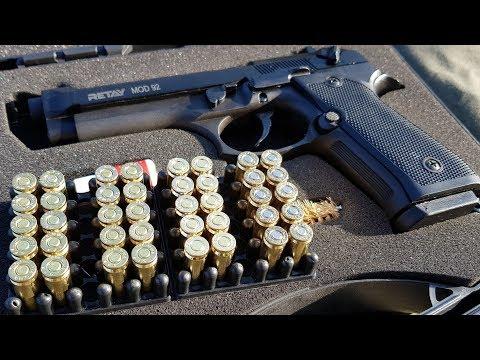 Сравнение холостых патронов 9mm S.T.S. Zuber Ozkursan M.A.C.