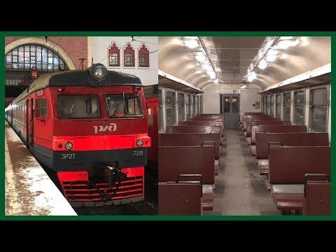 Поездка на электропоезде ЭР2Т-7215 по Казанскому направлению (31.12.2019)
