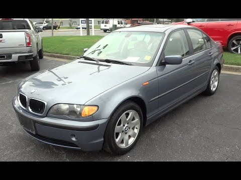 *SOLD* 2003 BMW 325i Walkaround, Start Up, Tour And Overview