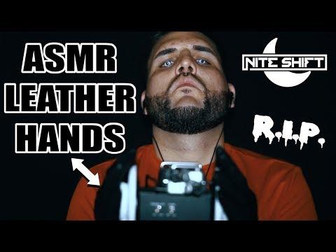 ASMR Leather Hands