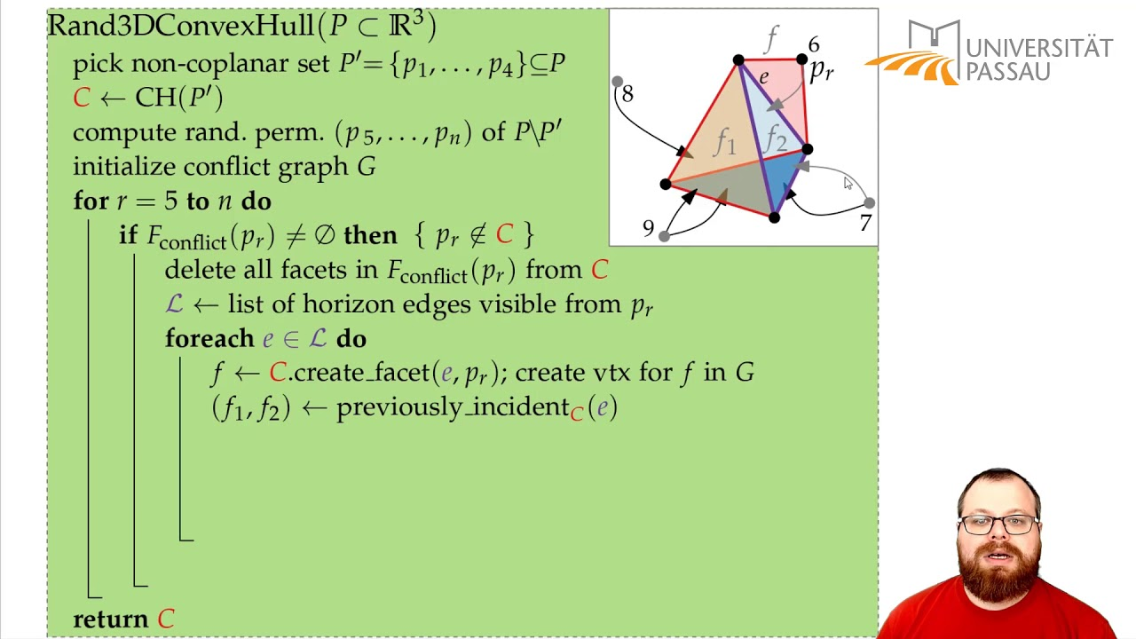 Download Convex Hull in 3D (2/5) | Computational Geometry - Lecture 09