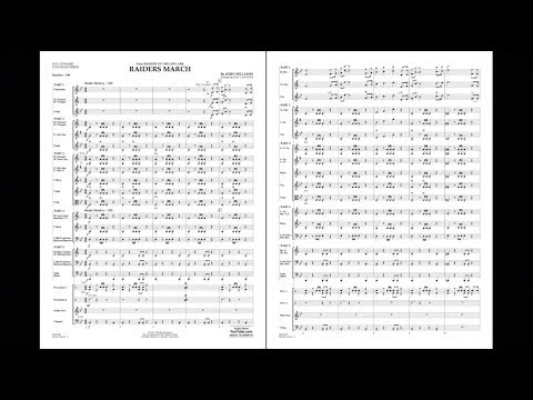 Raiders March by John Williams/arranged by Paul Lavender