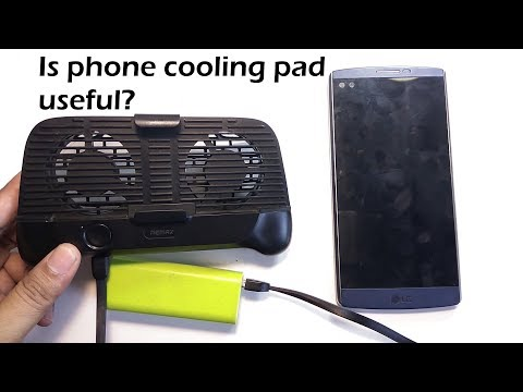 Remax Phone Cooling Pad Review [RT-EM01]