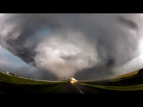 Escape from the deadly El Reno tornado
