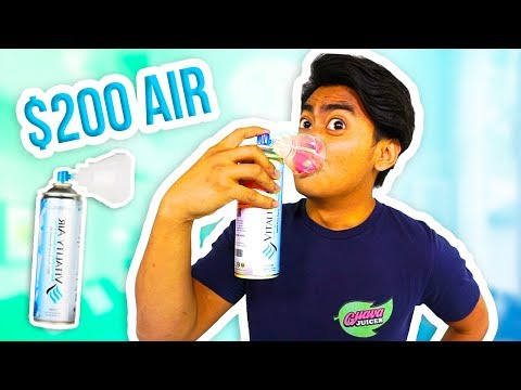 $200 CANNED AIR! (Is It Good?)