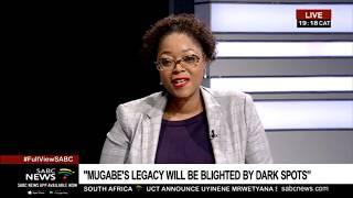 Robert Mugabe I Prof. Jonathan Moyo on Mugabe's legacy