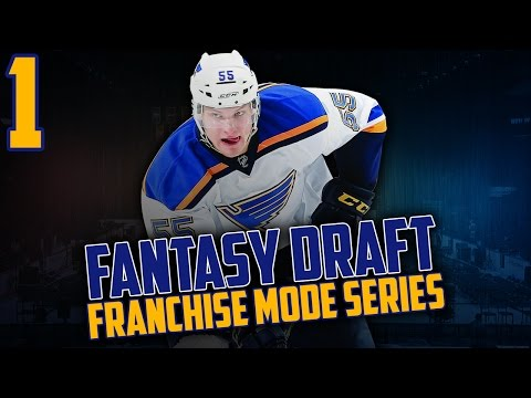 NHL 17 - Fantasy Draft Franchise Mode #1 'You Wanted This'
