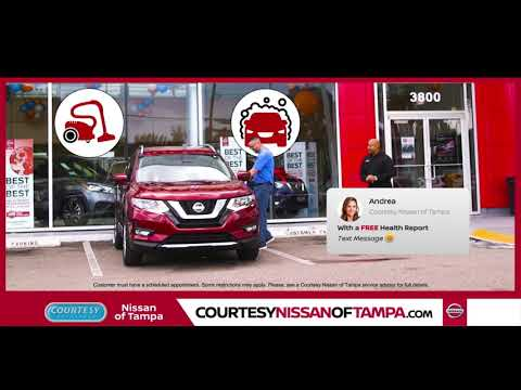 Courtesy Nissan Of Tampa Service Specials October 2018