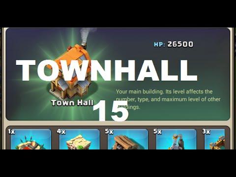 Castle Clash:  Town Hall 15 Base Design