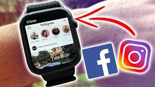 How to Have Instagram and Facebook on the Apple Watch FREE (Series 1-5)