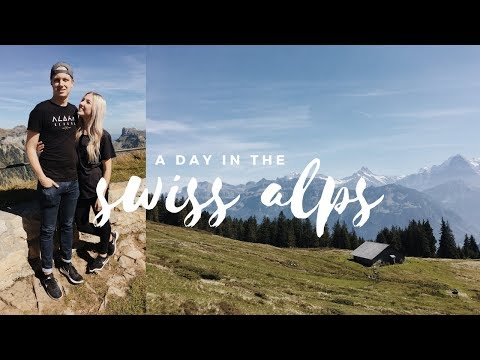 SCOOTERING DOWN A MOUNTAIN IN SWITZERLAND  |  VLOG thumbnail