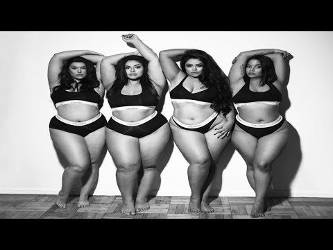 Body positive activists recreate the Kardashian/Jenner Calvin Klein ad. http://bit.ly/2MFPP4N