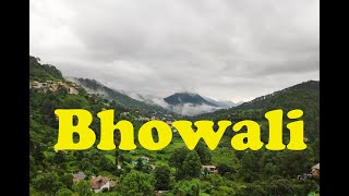 Bhowali Timelapse (4K 60fps) | 5.1 Channel Sound | Nainital | Cloudy Sky | Hill Station