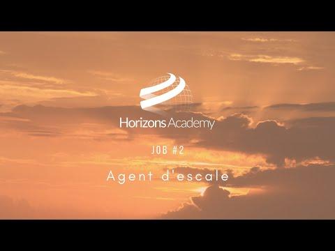 JOB #2 - AGENT D'ESCALE