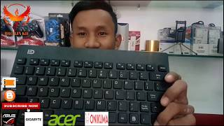 Unboxing Rivew Keyboard Wireless Fashion, Bro Lin Kh