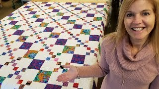 "FREE Kaffe Irish Chain ""Chain Links"" Quilt Pattern!!"