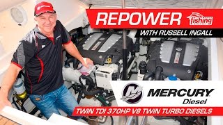 Russell Ingall's Mercury Diesel Repower Journey