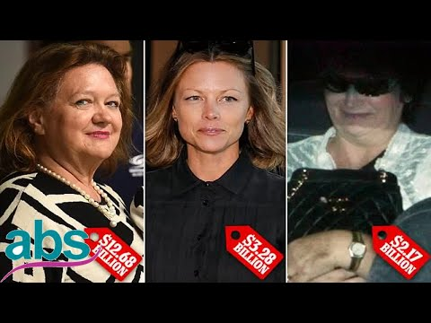 The five richest women in Australia revealed  | ABS US  DAILY NEWS