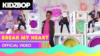 KIDZ BOP Kids - Break My Heart (Official Music Video) [KIDZ BOP 2021]