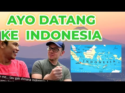 AMERICAN REACTS TO WONDERFUL INDONESIA