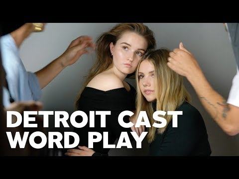 Hannah Murray, Kaitlyn Dever, Algee Smith & Jacob Latimore for RAW's Word Play