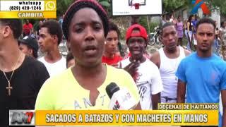 Dominicanos toman la justicia en sus manos contra haitianos