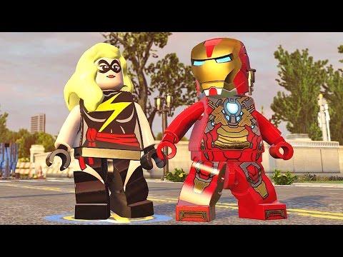 Lego Marvel Vingadores #25: Passagem Secreta em Washington DC - Xbox One Gameplay