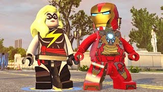 Lego Marvel Vingadores #25: Passagem Secreta em Washington DC - Xbox One Gameplay