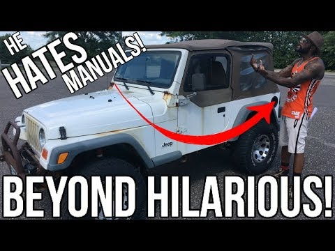 """Teaching """"Mr_Organik"""" How To Drive A Manual!! The Funniest Video I've Ever Done Hands Down!!"""