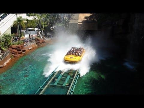 Jurassic Park The Ride Universal Studios Hollywood Universal City California