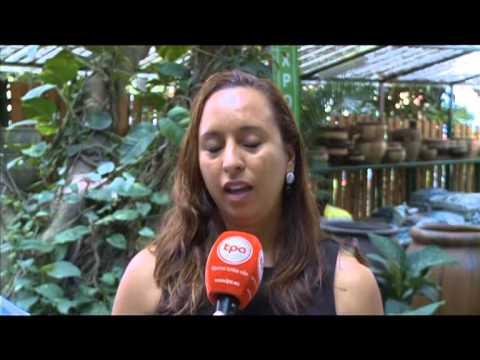 Primeiro Curso de Formação Floral em Angola - TV - TPA INTERNACIONAL ANGOLA
