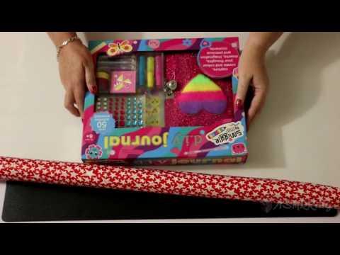 Wrapping Christmas Presents ASMR (silent, no talking)