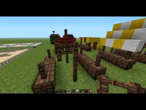 minecraft tutorial marktplatz bauen youtube. Black Bedroom Furniture Sets. Home Design Ideas