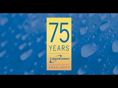 Calgon Carbon Corporation 75th Anniversary Timeline 1942-2017