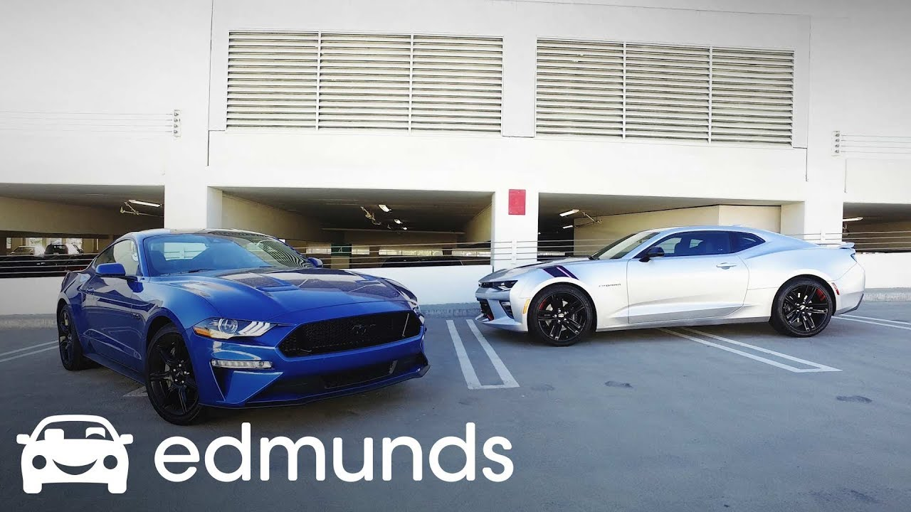 2018 Chevrolet Camaro Ss Vs Ford Mustang Gt Comparison Test Edmunds