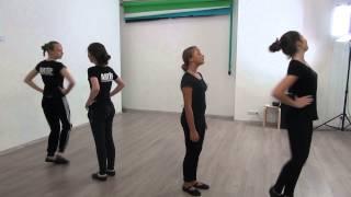 Студия Актер  Окрытый урок  Экзамен по танцу  Педагог  Делятицкая  Г А  10