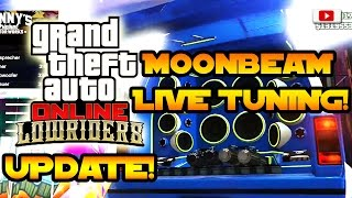 Grand Theft Auto 5 Online - Declasse Moonbeam Live Tuning Mit Enrico Italia! [Lowriders Update]