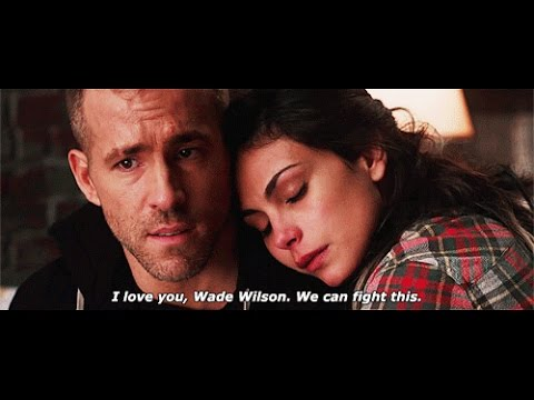 Wade Wilson And Vanessa Carlysle I Hate You I Love You