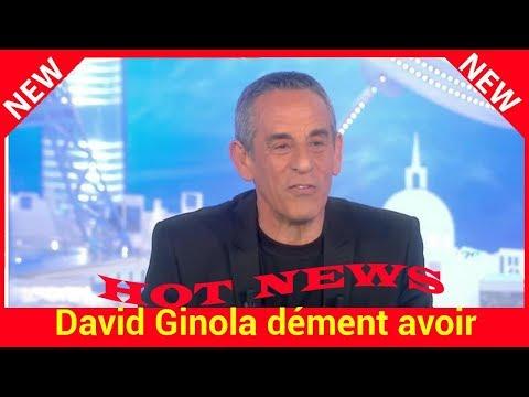 David Ginola dément avoir été sauvé par M Pokora