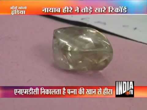 Biggest Ever Diamond Unearthed From Panna