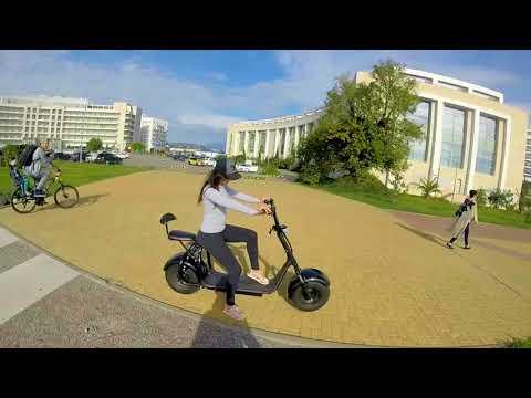 Прокат великов и элетробайков в олимпийском парке