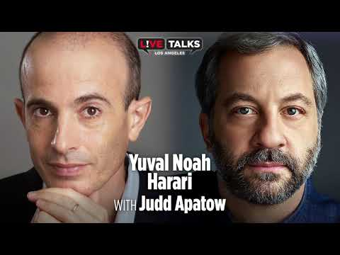 Yuval Noah Harari in conversation with Judd Apatow
