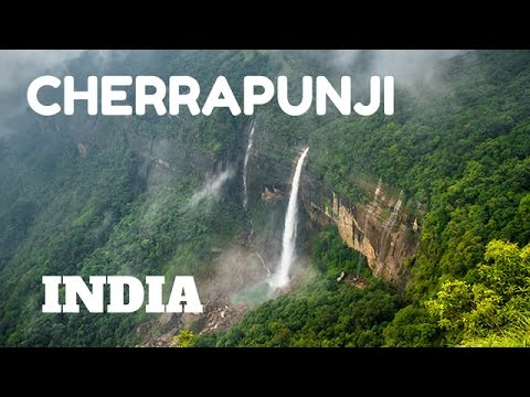SPECTACULAR WATERFALLS & LIVING ROOT BRIDGES IN CHERRAPUNJI,