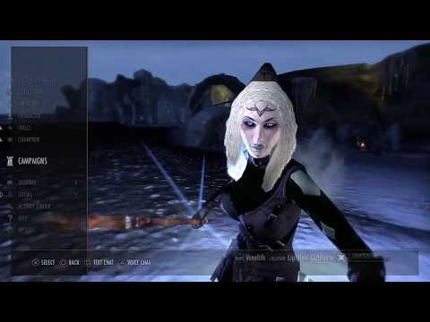 TES Online PS4:  Coldharbor in the upsidedown ( MissCassiee)